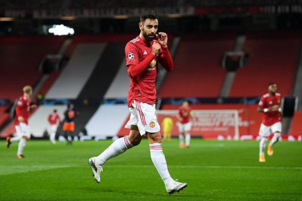 Passion for playing football with Bruno Fernandes