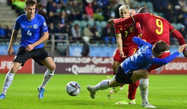 Belgium defeated Estonia 5-2