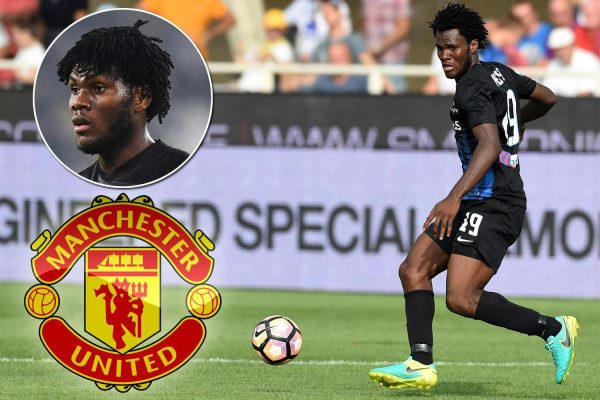 Manchester United are planning a move for Franck Kessie